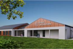 Wizualizacje i projekt nowego budynku